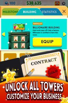 《Cash, Inc.》金錢點擊遊戲&商業冒險 截圖 4