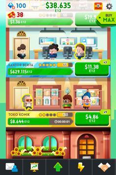 《Cash, Inc.》金錢點擊遊戲&商業冒險 截圖 1