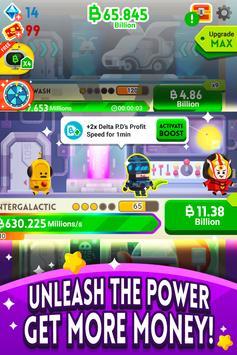 《Cash, Inc.》金錢點擊遊戲&商業冒險 截圖 2