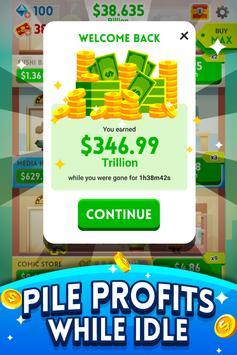 《Cash, Inc.》金錢點擊遊戲&商業冒險 截圖 3