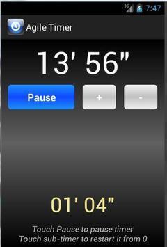 Agile Timer screenshot 3