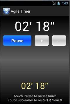 Agile Timer screenshot 1