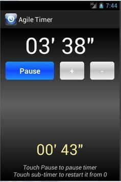 Agile Timer screenshot 2