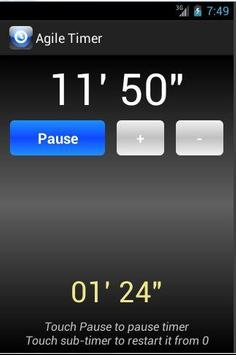 Agile Timer screenshot 5