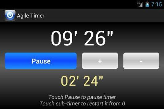 Agile Timer screenshot 6