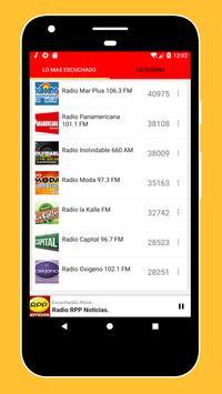 Radios Peruanas en Vivo Gratis - Emisoras del Perú imagem de tela 3