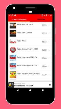 Radios Peruanas en Vivo Gratis - Emisoras del Perú imagem de tela 13