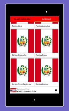 Radios Peruanas en Vivo Gratis - Emisoras del Perú imagem de tela 17
