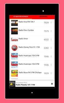 Radios Peruanas en Vivo Gratis - Emisoras del Perú imagem de tela 21