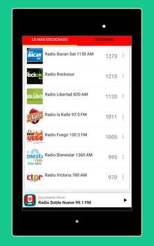 Radios Peruanas en Vivo Gratis - Emisoras del Perú imagem de tela 23