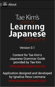 Learning Japanese poster