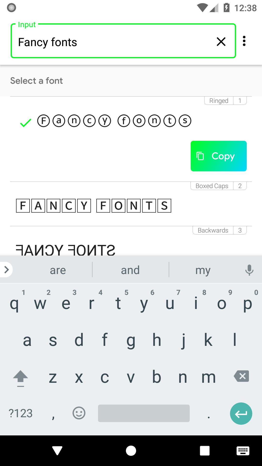Fontify - Fonts for Instagram for Android - APK Download