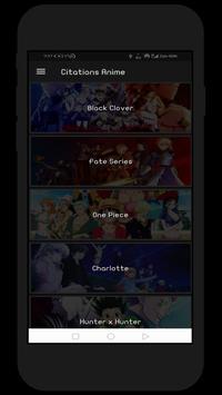 Citations Anime screenshot 1