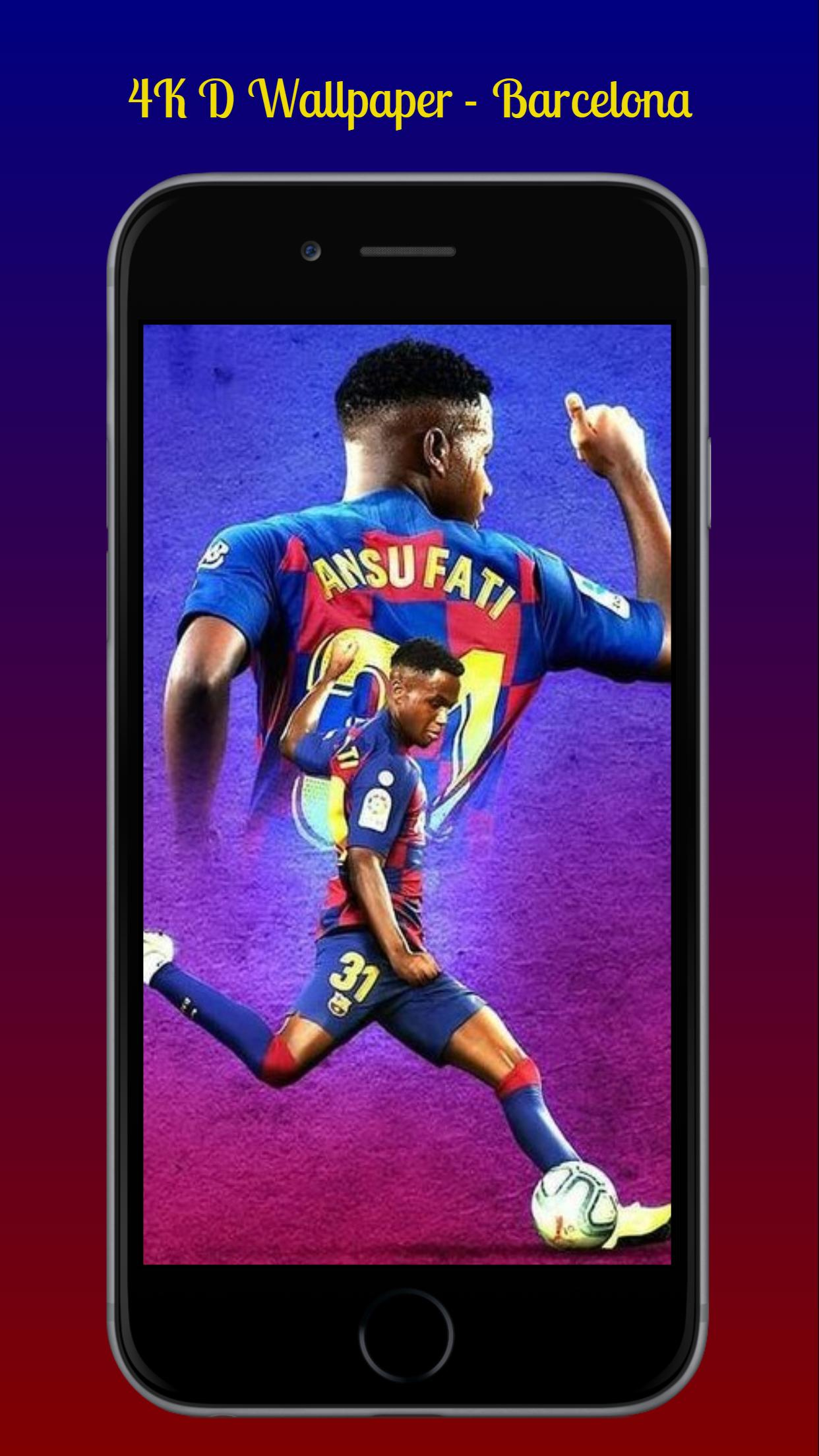 Foot Ball Wallpaper 4K│HD Barcelona For Android APK Download