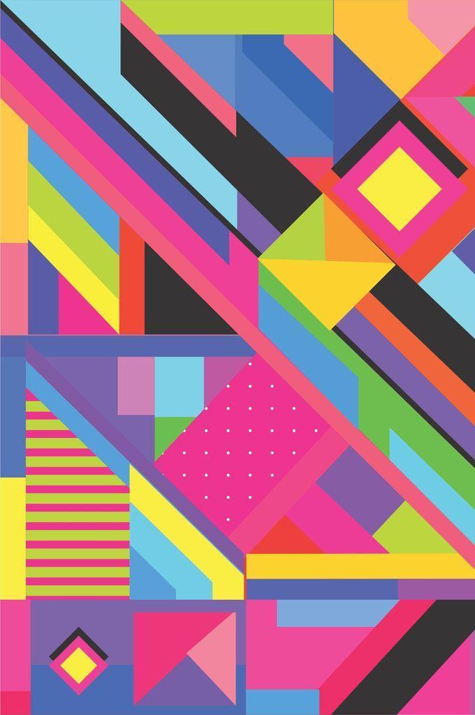 Memphis Design Wallpaper For Android Apk Download