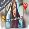 Professional Designer - Writing on photos icon