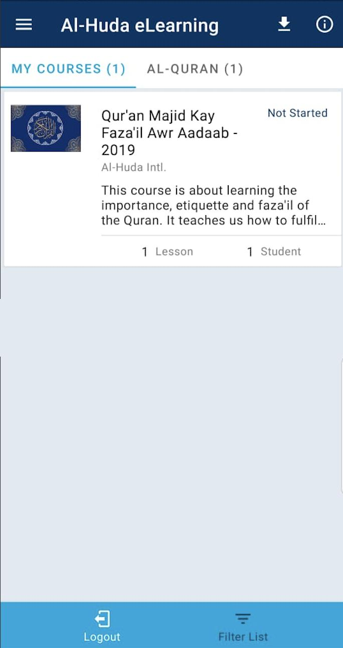 Al-Huda eLearning for Android - APK Download