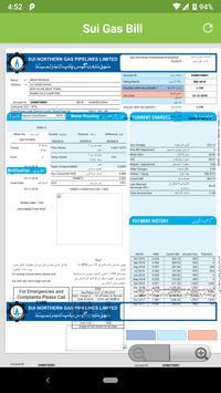 Sui Gas Bill Check screenshot 1