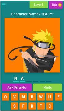 ANIME QUIZ - Trivia Game poster