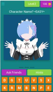 ANIME QUIZ - Trivia Game screenshot 2