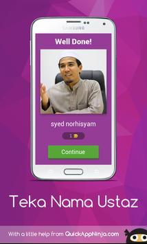 Teka Nama Ustaz screenshot 1