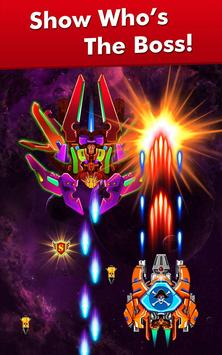 Galaxy Attack: Alien Shooter تصوير الشاشة 19