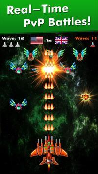 Galaxy Attack: Alien Shooter captura de pantalla 1