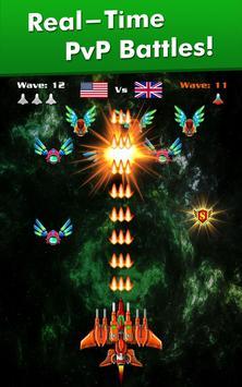 Galaxy Attack: Alien Shooter تصوير الشاشة 9