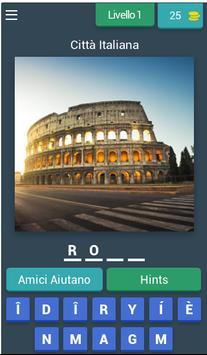 Città d'Italia Quiz poster