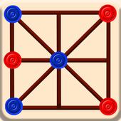 Three Men's Morris - Three Bead Game icon