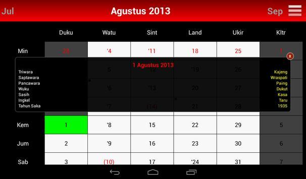 Kalender Bali screenshot 12