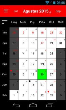 Kalender Bali screenshot 1
