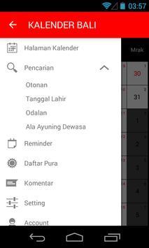 Kalender Bali screenshot 2