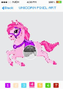 UNICORN Pixel Art Coloring Games 🦄Color by Number for ...