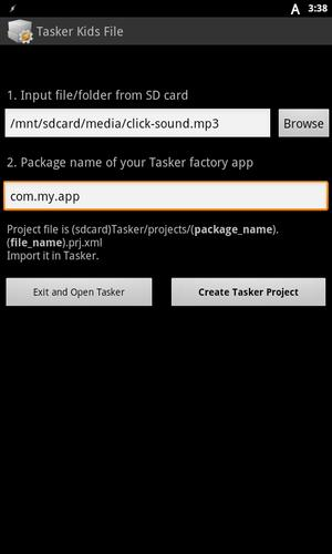 Tasker Kids File for Android - APK Download