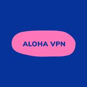 Aloha VPN - unblock sites, encrypt WiFi hot spot icon