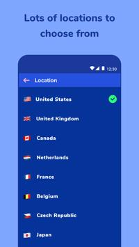 Aloha VPN - unblock sites, encrypt WiFi hot spot screenshot 3