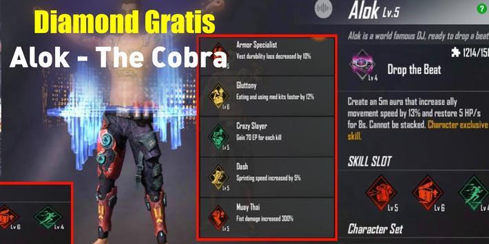 Alok dj Fiire Spin of Free - Cobra Diamond screenshot 1