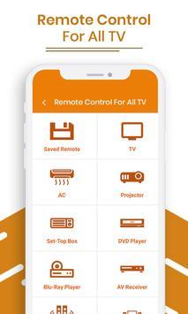 Remote Control For All TV screenshot 1