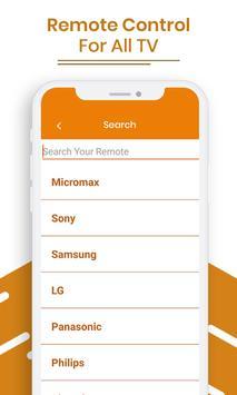 Remote Control For All TV screenshot 2