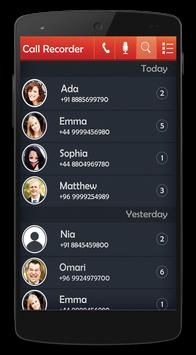 New Call Recorder Plus Automatic screenshot 1