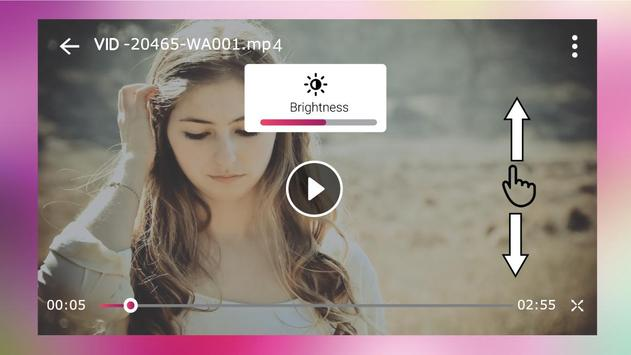 Video Player - OGV, WEBM, WMV, ASF, 3G2, FLV, VOB screenshot 1