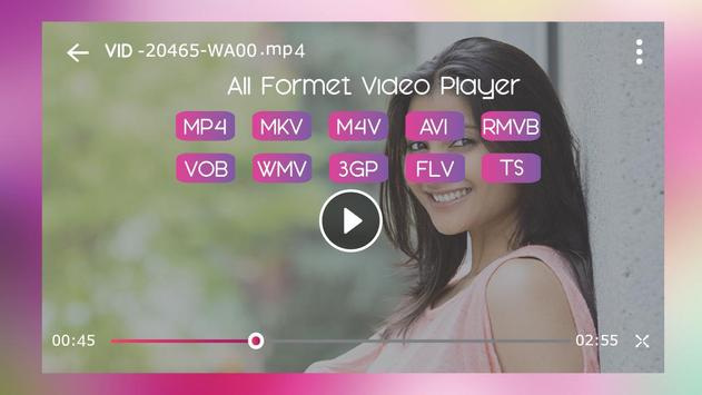 Video Player - OGV, WEBM, WMV, ASF, 3G2, FLV, VOB screenshot 6