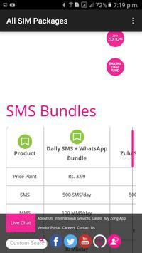 All SIM Packages screenshot 3