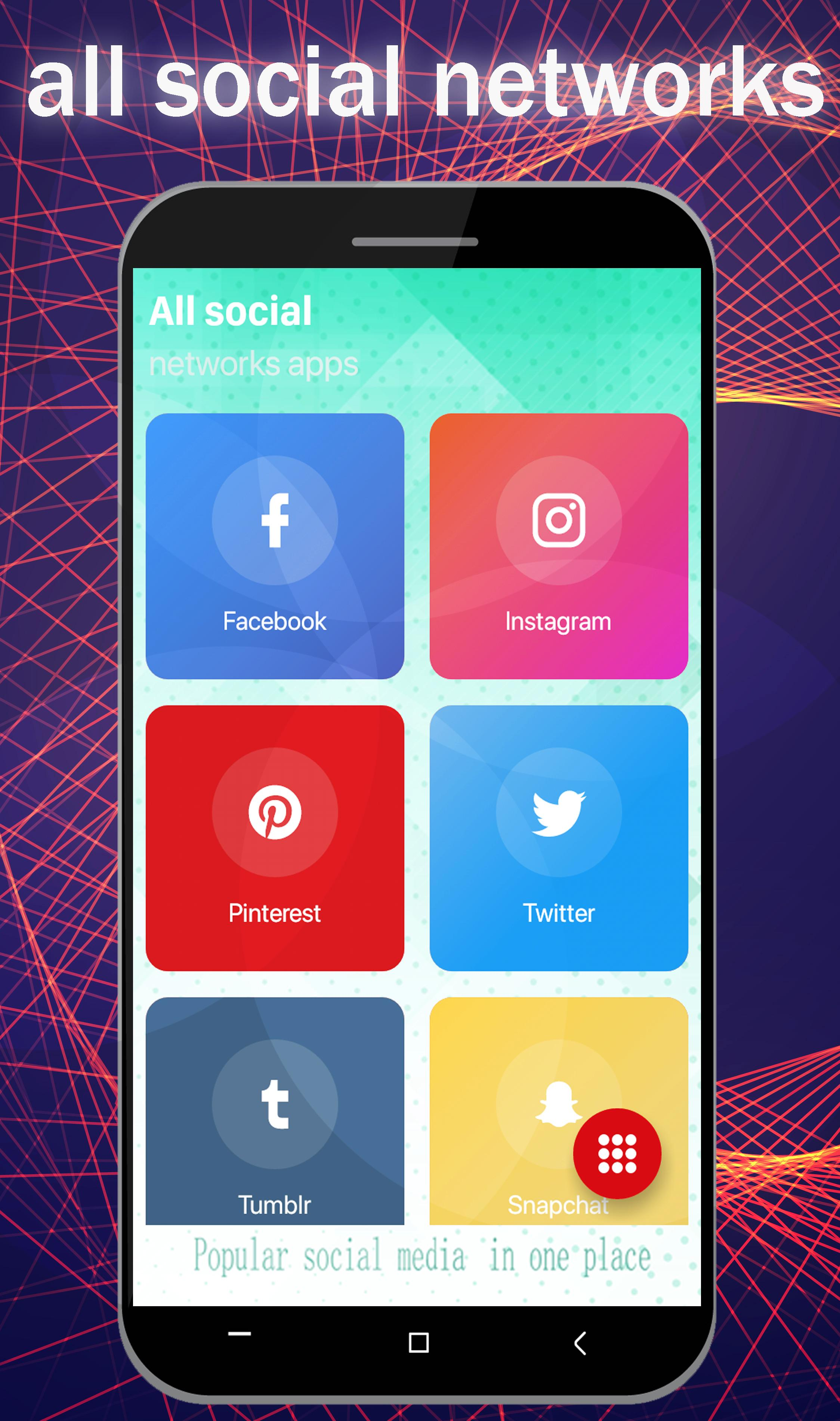 All Social Networks Media Hub pro 2019: All in One for
