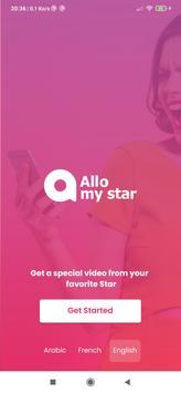 AlloMyStar capture d'écran 4
