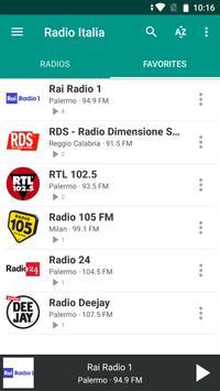 Radio Italia screenshot 6