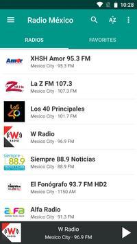 Radio México poster