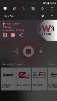 Radio México screenshot 2