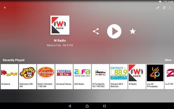 Radio México screenshot 8